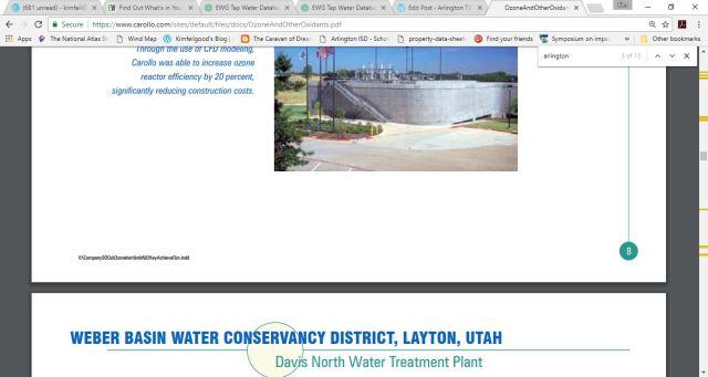 city of arlington water ozone info 3