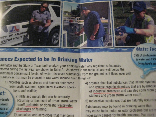 Arlington TX 2012 Water Quality Report