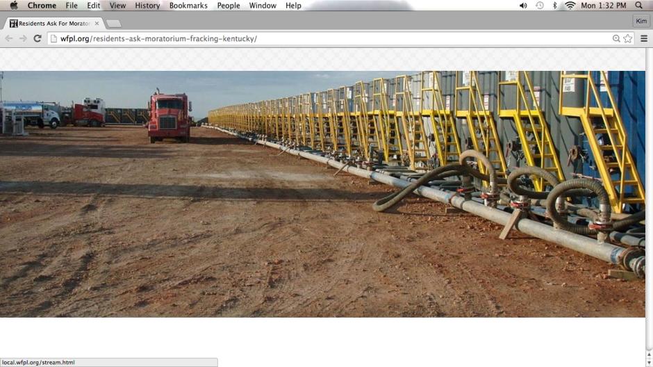 endless fracking water tanks....! http://wfpl.org/residents-ask-moratorium-fracking-kentucky/