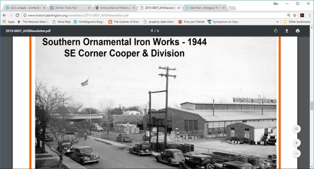 arlington iron works on cooper 1940s 3