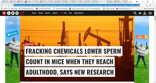 fracking sperm count