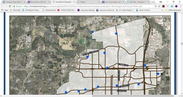 arlington buzz frack map 1