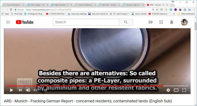 pe piping can be more protective from fracking